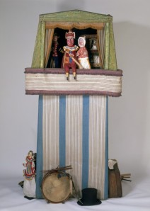 Gus Wood's Punch and Judy Booth